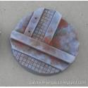 Lote 5 peanas 'Metalik' redondas 40mm