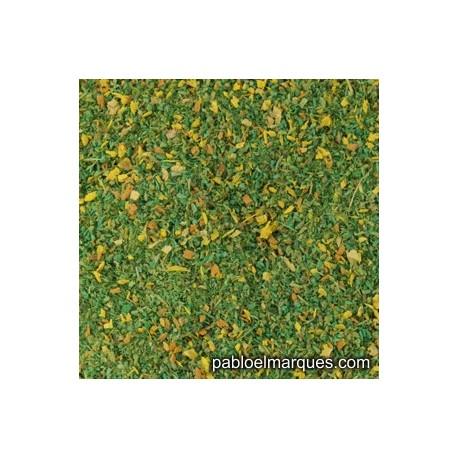 MP-132 pradera verde medio con flores amarillas