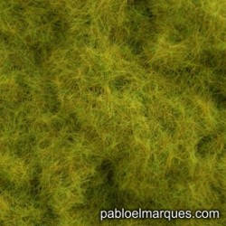 C-411 static grass:  yellow olive green