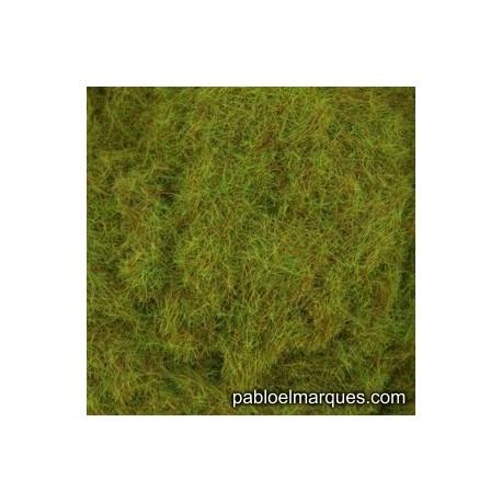 C-414 static grass: olive green - Orange brown