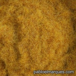 C-451 static grass: orange dark straw
