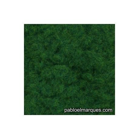 C-205 césped electrostático verde medio