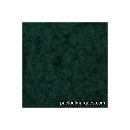 C-207 césped electrostático verde oscuro