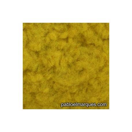C-209 césped electrostático amarillo dorado