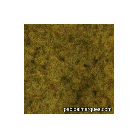 C-215 césped electrostático verde oliva anaranjado