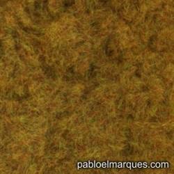C-216 césped electrostático marrón anaranjado verdoso