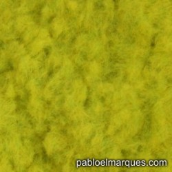 C-228 césped electrostático amarillo verdoso