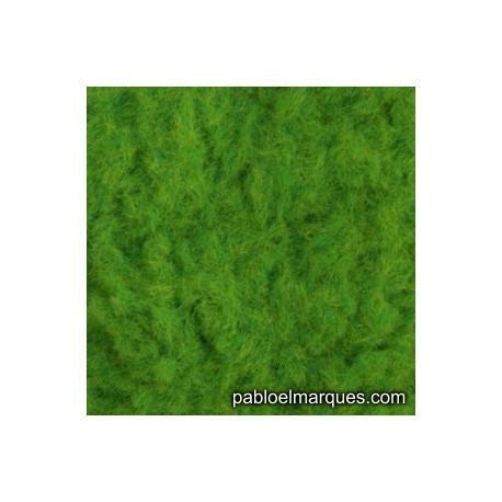 C-231 césped electrostático verde brillante