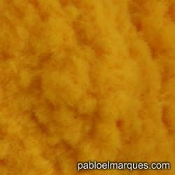 C-237 césped electrostático amarillo anaranjado