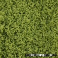 E-11 espuma fina: verde amarillento