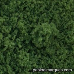 E-13 espuma fina: verde medio
