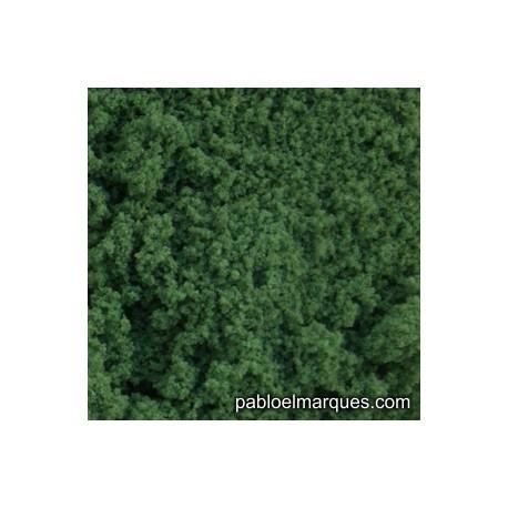 E-14 espuma fina: verde oscuro