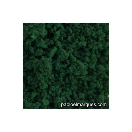 E-24 espuma media: verde oscuro