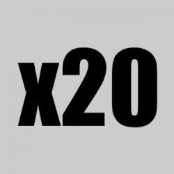 Lote 20 bolsitas