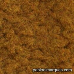 C-217 césped electrostático marrón anaranjado
