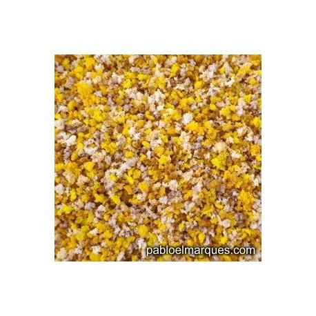 Autumn blend: light yellow