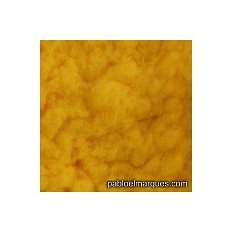 C-236 césped electrostático amarillo anaranjado