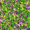 J-07 Garden: pink and violet flowers