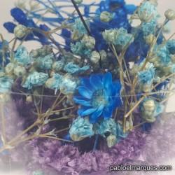 Flores Azul / Violeta