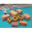 Lote 9 cajas '9 modelos' - cajas de mercancias